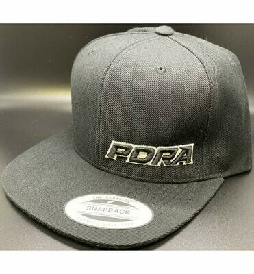 PDRA Logo Snap Back Hats
