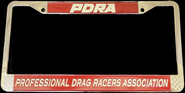 PDRA Logo License Plate Frame
