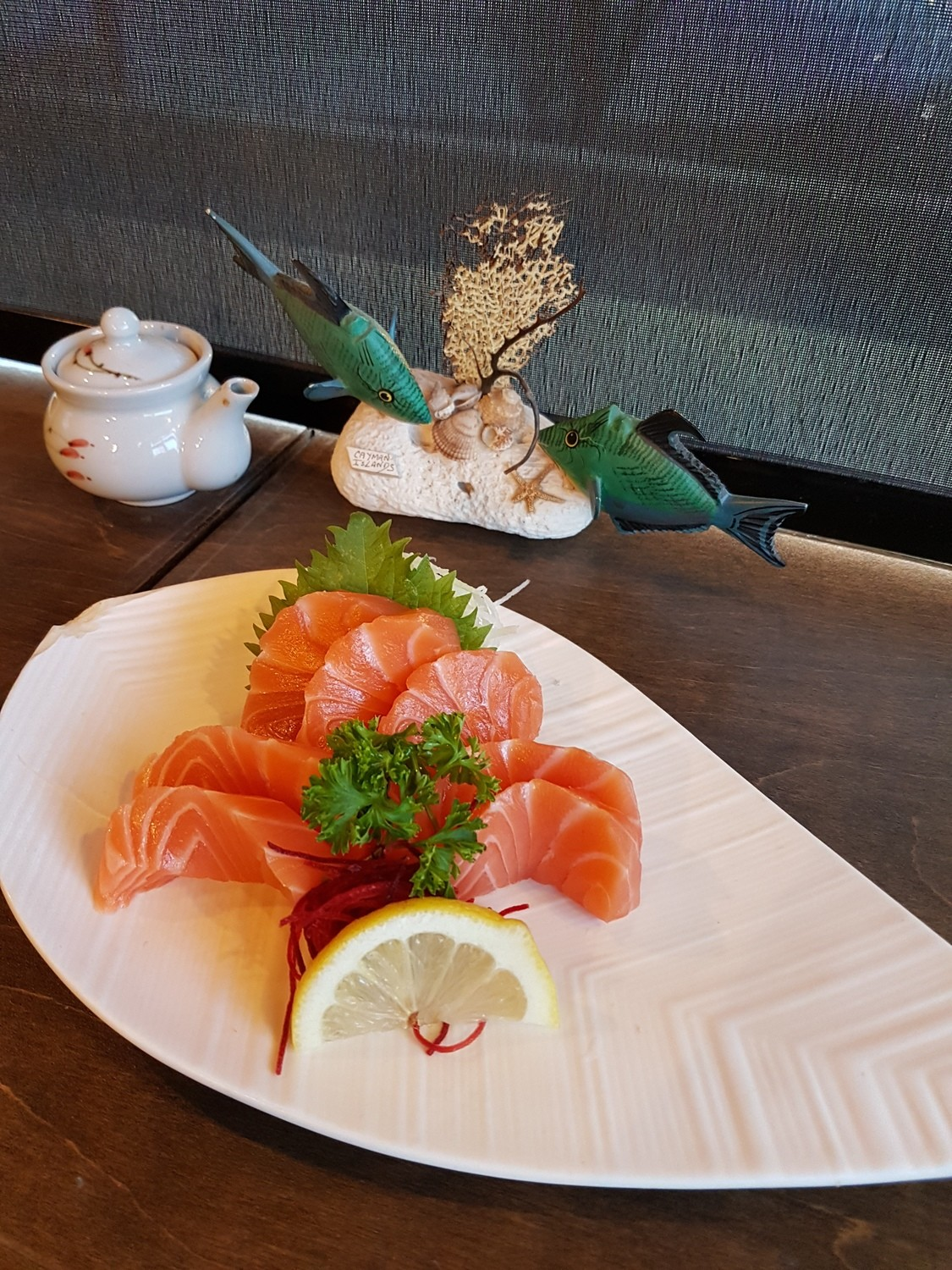 Salmon Sashimi (Full)
