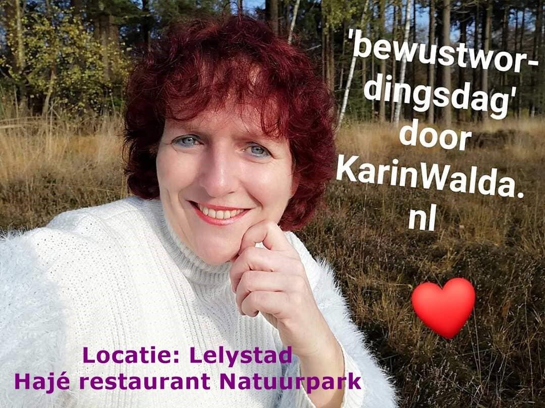 Bewustwordingsdag door KarinWalda.nl locatie Lelystad