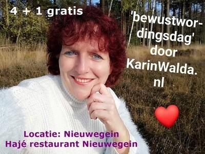 Bewustwordingsdag door KarinWalda.nl locatie Nieuwegein  4 + 1 gratis