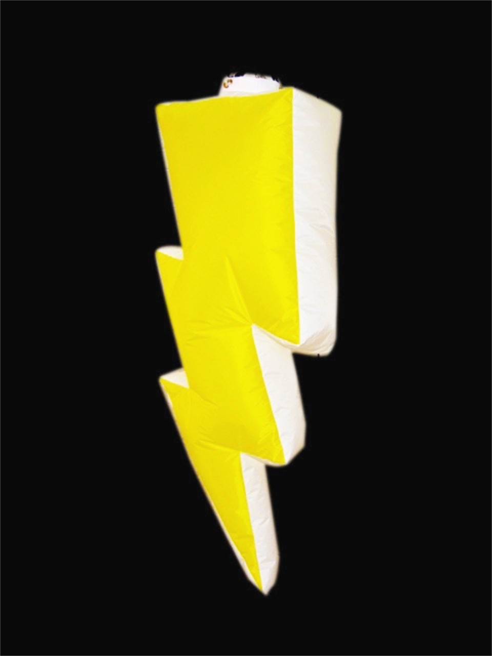 Hanging Inflatable Lighting Bolt 9ft/275cm x 4ft/122cm