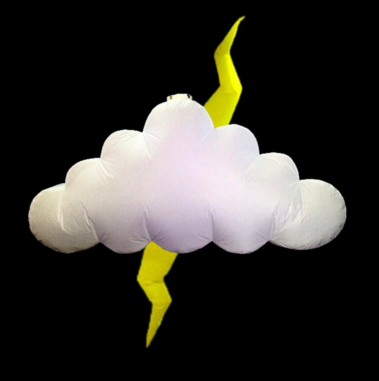Hanging Inflatable Cloud 9.7ft/295cm x 5ft/152cm