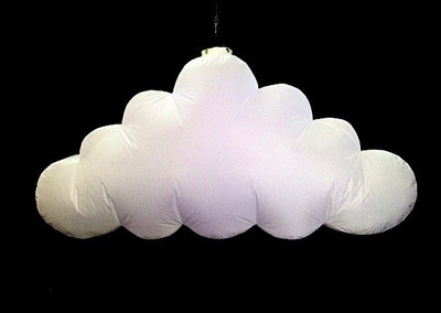 Hanging Inflatable Cloud 7ft/214cm x 3.6ft/110cm