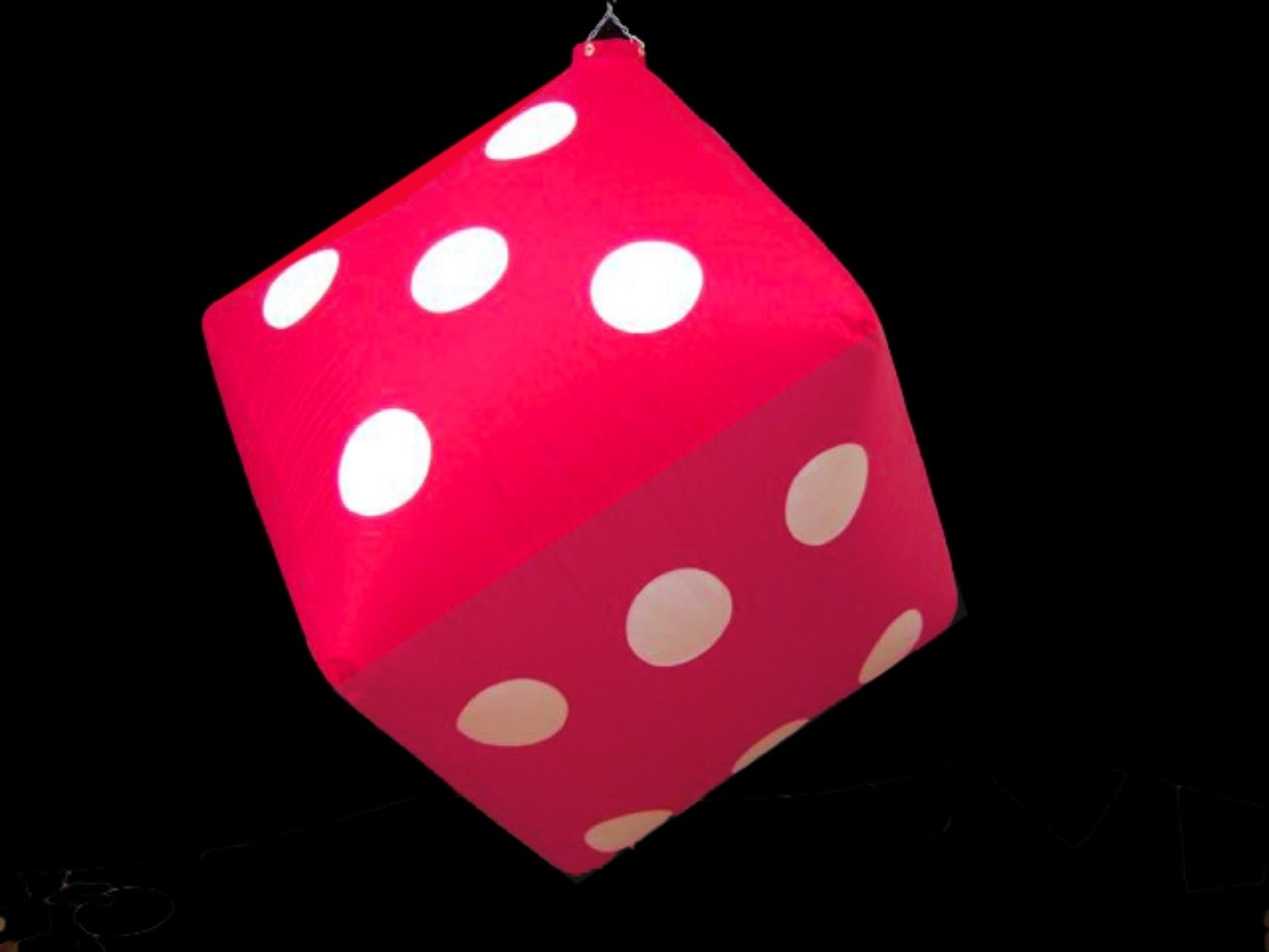 Hanging Inflatable Dice 3ft/91cm x 3ft/91cm