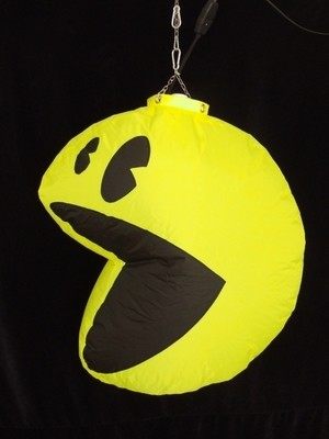 Hanging Inflatable Pac-man 2.6ft/78cm x 3ft/91cm