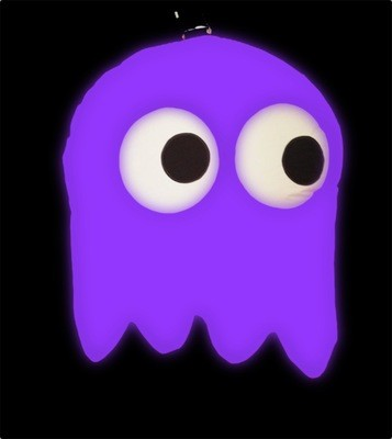 Hanging Inflatable Pac-Ghost 3.1ft/96cm x 4ft/122cm