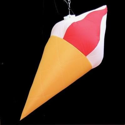 Hanging Inflatable Ice Cream 2.6ft/78cm x 6ft/182cm