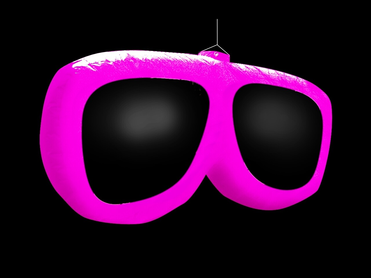 Hanging Inflatable Sunglasses 5.2ft/160cm x 2.5ft/75cm