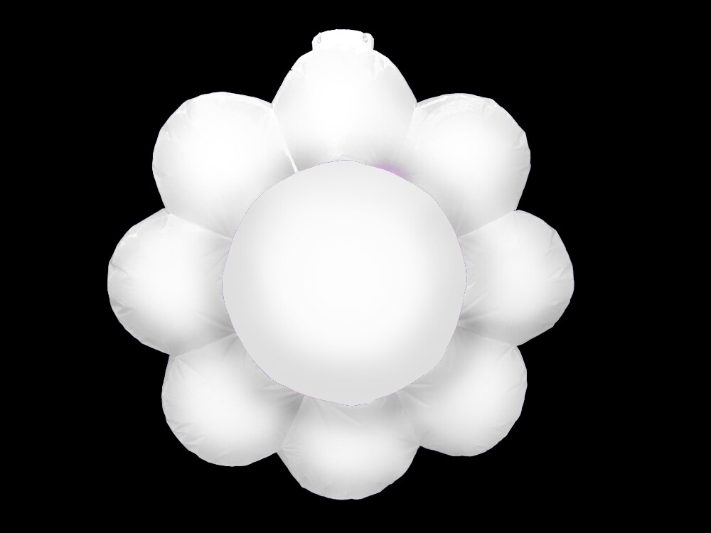 Hanging Inflatable Flower 3ft/91cm x 3ft/91cm