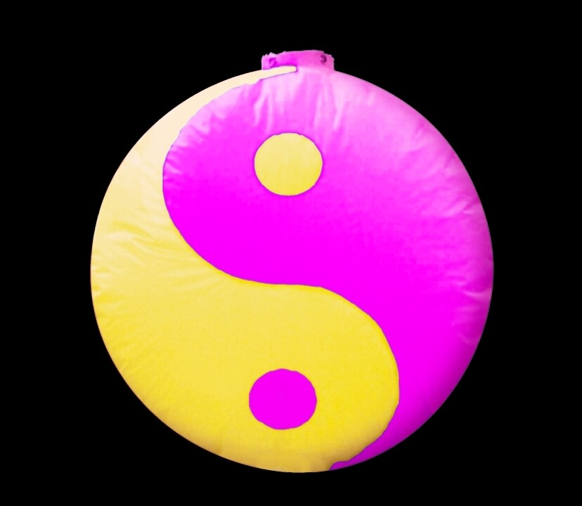 Hanging Inflatable Ying Yang 5ft/152cm x 5ft/152cm