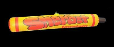Hanging Inflatable Branded Tube 8ft/244cm x 1.6ft/50cm
