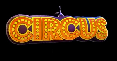 Hanging Inflatable Circus Sign 6.7ftft/205cm x 2ft/60cm