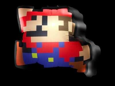 Hanging Inflatable Super Mario 2.7ft/82cm x 2.5ft/75cm