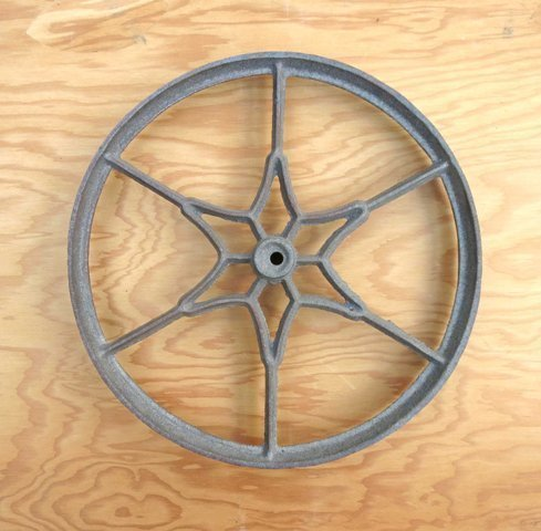Cast Iron Wheel ~ DI-099