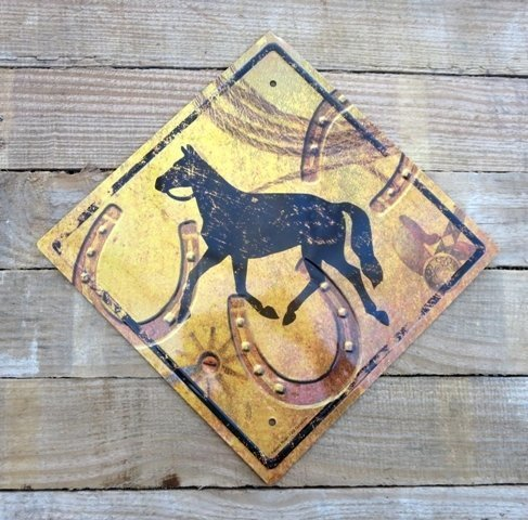 Horse Tin Sign ~ TH999