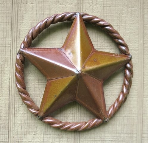 Star in Rope Ring 7""