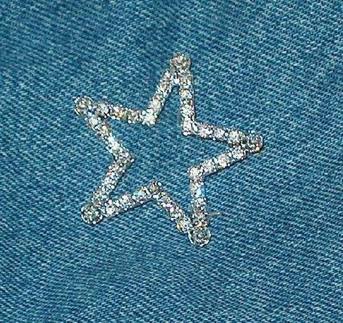 Rhinestone STAR Pin