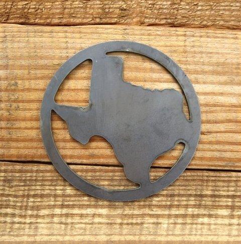 Texas in Circle Cutout ~ TCC44