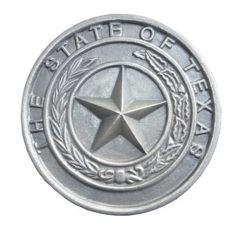 Texas State Seal Plaque LG T410