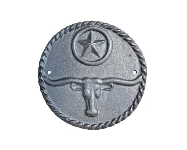 Steer Star Plaque ~ T6224