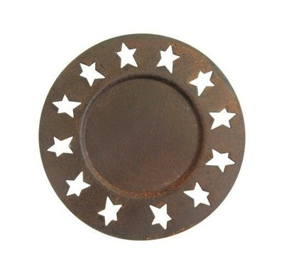 Star Candle Plate ~ CG1730AB
