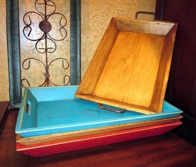 Wood Tray ~ DWT15332