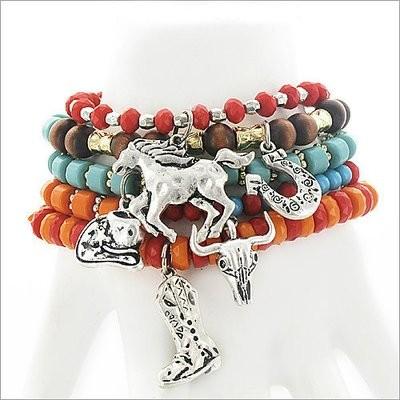 Western Multi Bracelet