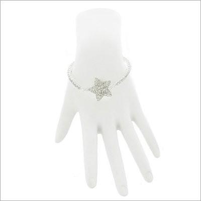 Rhinestone Star Accent Bracelet ~ W042039