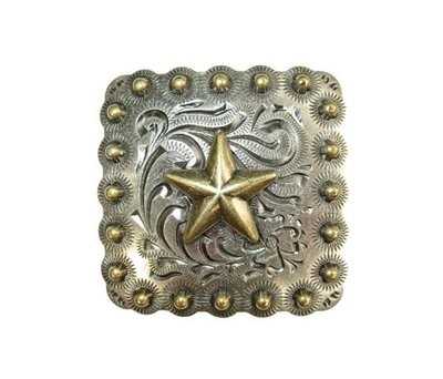 Concho ~ Square Berry with Star ~ TL2550AS