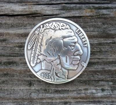Indian Nickel Concho ~ DINC1