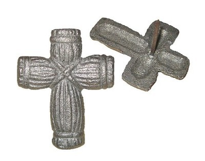 Cross Nail ~ Straw Design D58-045