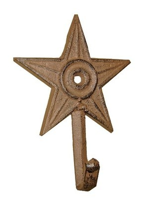 Star Single Hook  D54-107