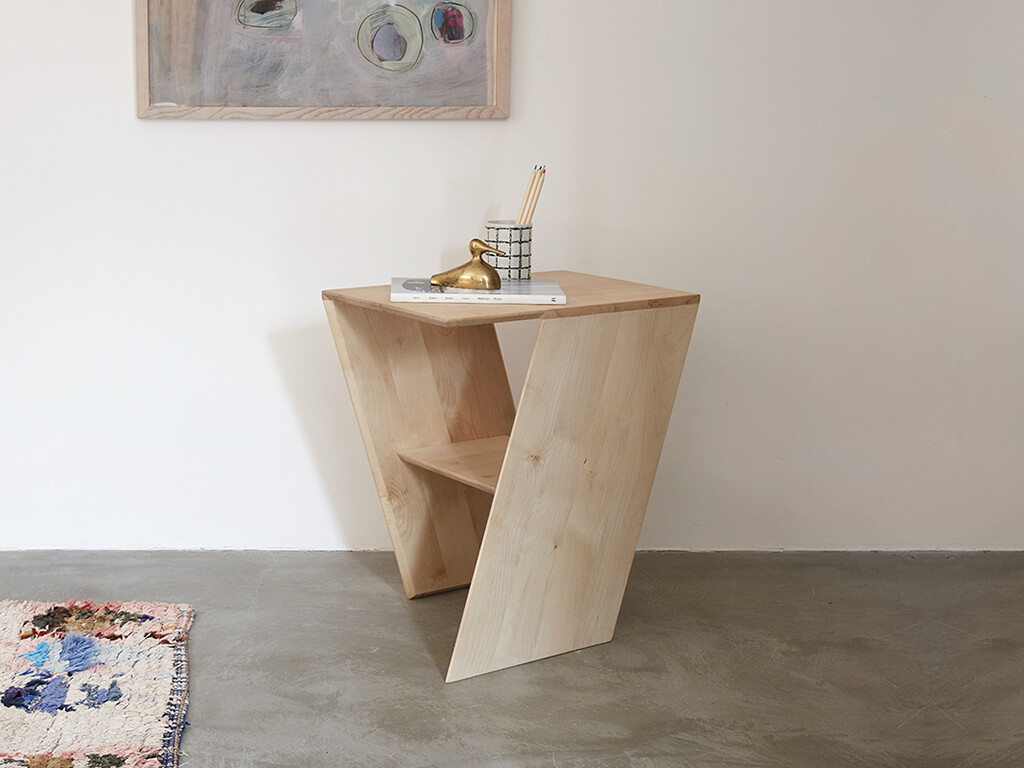 Slant Side Table