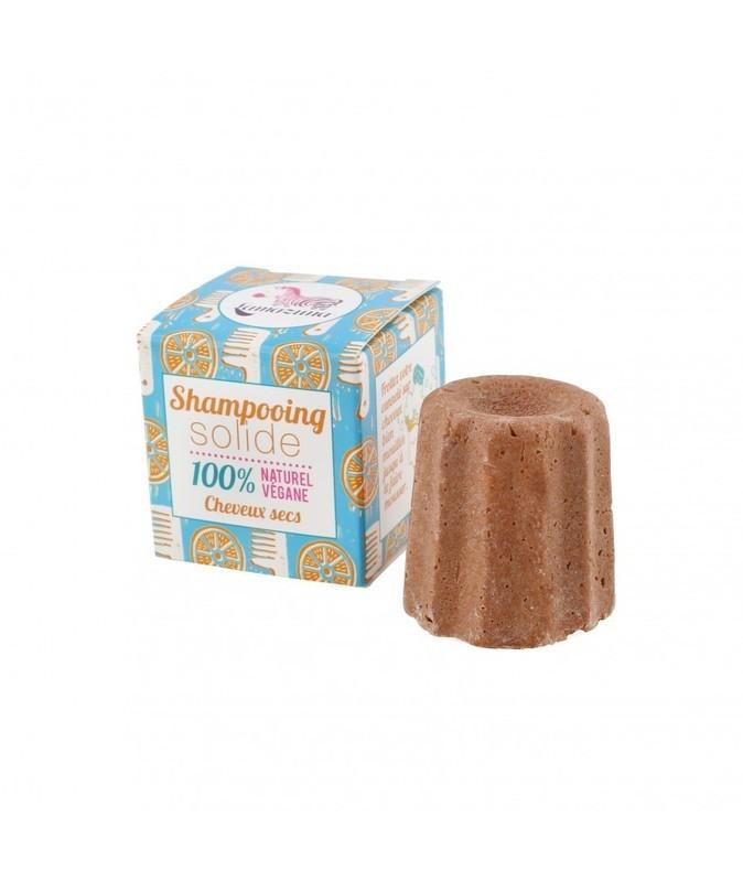 SHAMPOO IN BLOK 'SINAASAPPEL OLIE' (droog haar) - LAMAZUNA - 55g