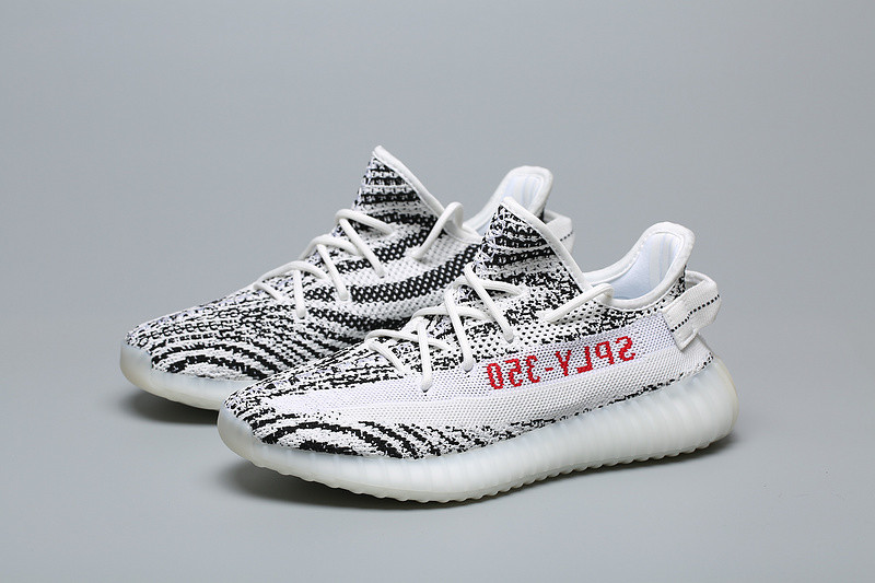 new product d40e8 7225a Mens/Womens Adidas Originals Yeezy Boost 350 V2 Zebra CP9654
