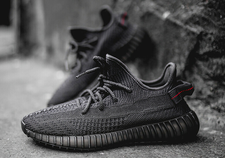 Mens/Womens Adidas Yeezy Boost 350 V2 Black Non-Reflective FU9006 Write review   Ask question