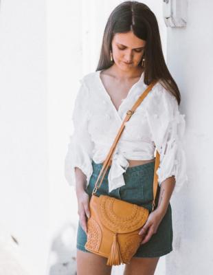 Vilana Leather Bag