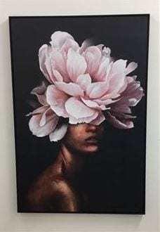 Flora Lady Canvas