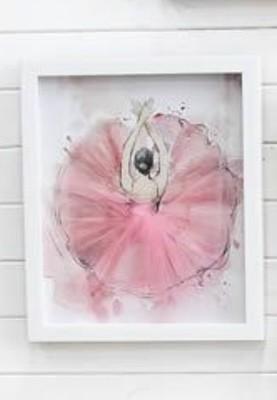 Framed Tutu Pink