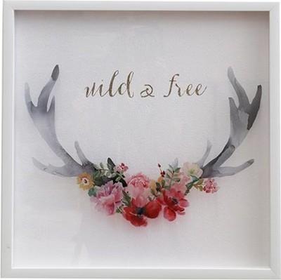 Framed Print Wild & Free