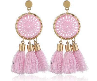 Dreamcatcher tassel Earrings