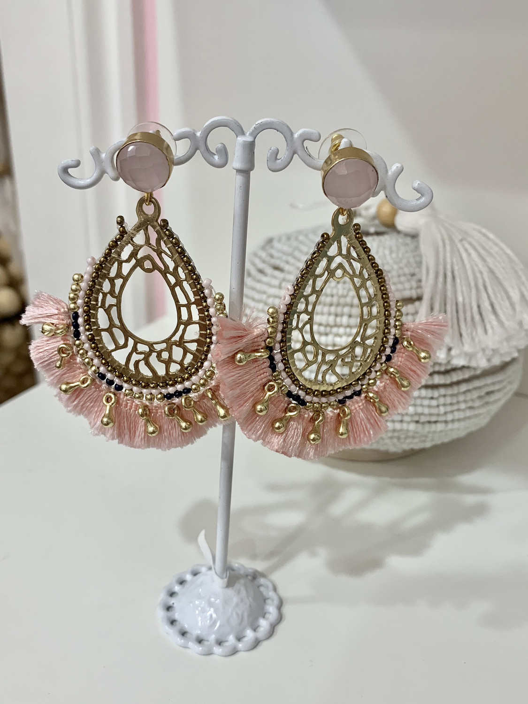 Blush Earrings