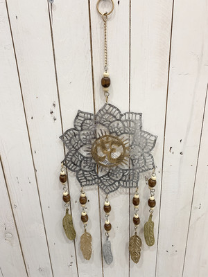 Metal Dream Catcher Flower