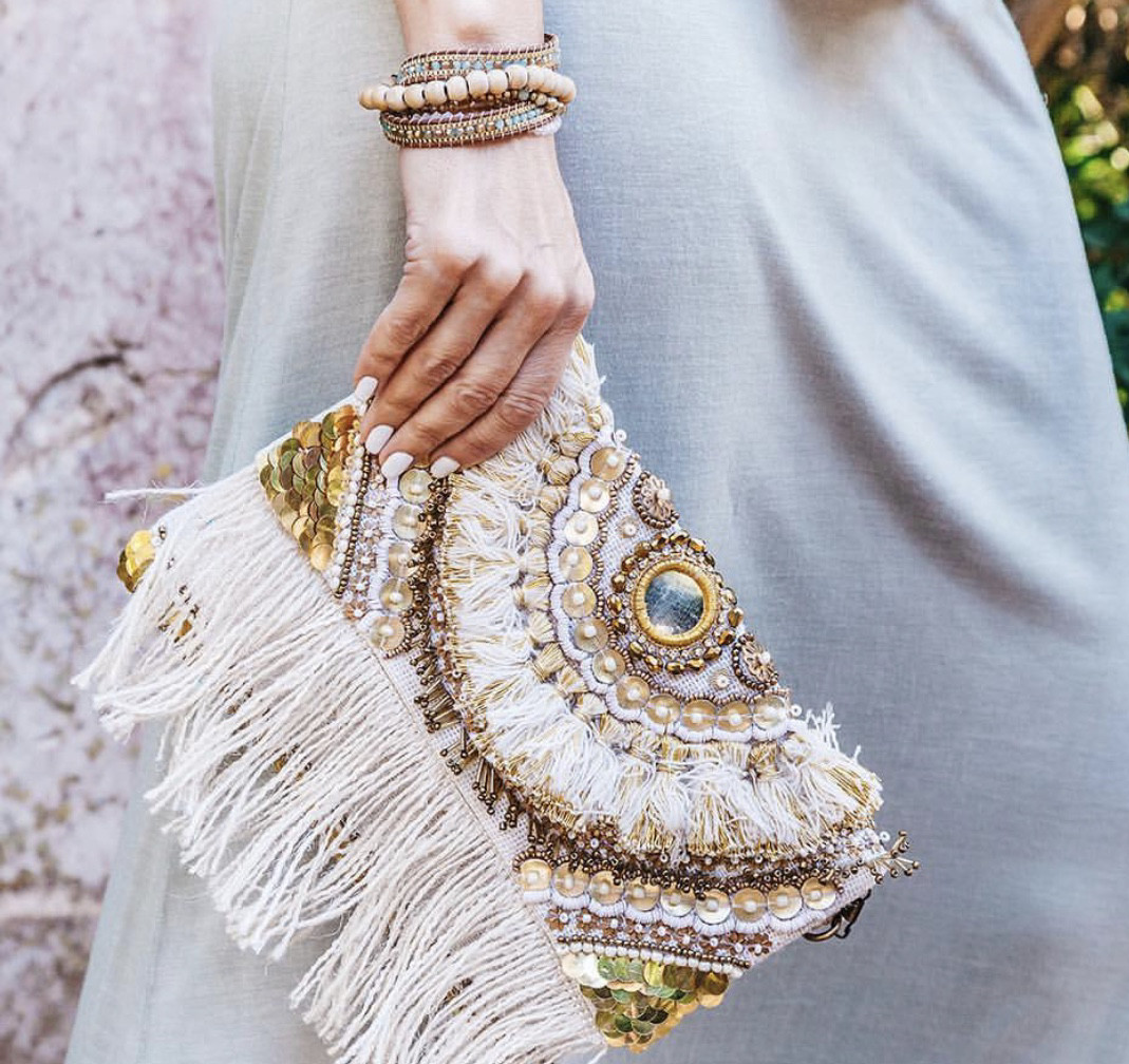 Lacy Clutch