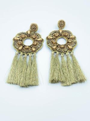 Goddess Tassel Earrings