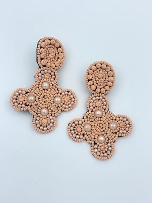 Peace Rosa Earrings