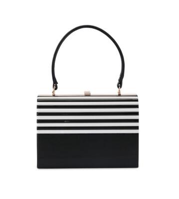 Lucille Acrylic Top Handle Bag