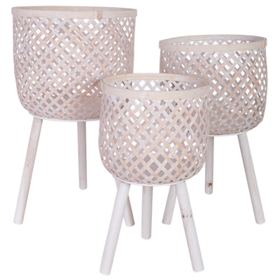 Cane Planter Stand Set (3)