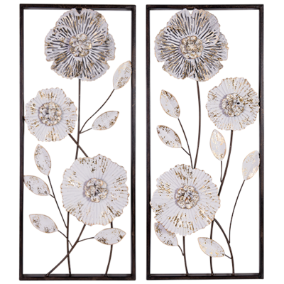 Decorative Metal Wall Decor set of 2
